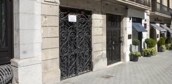 Outside facade of a building